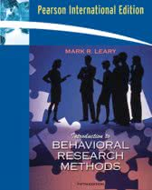 9780205604364-Introduction-To-Behavioral-Research-Methods