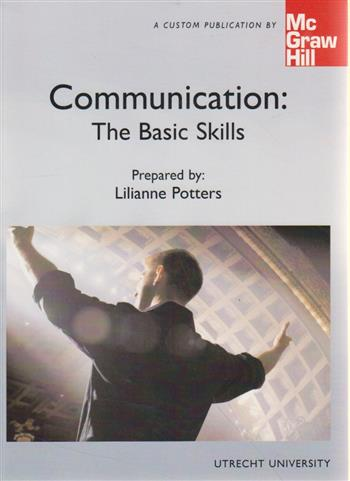 9780390448927-Communication--The-basic-skills-utrecht-university-custom-edition