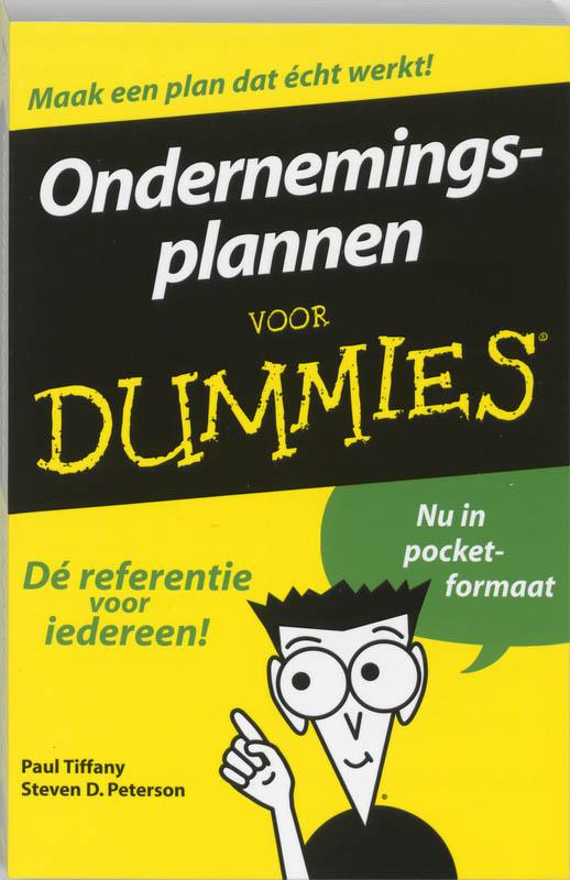ondernemingsplan voor dummies 9789043008518 Ondernemingsplannen voor Dummies tweedehands ondernemingsplan voor dummies